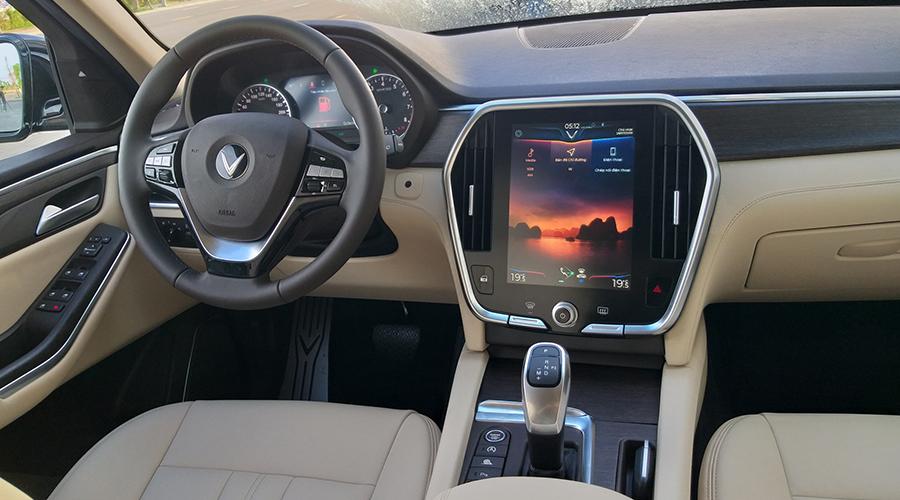 Trang bị trên xe VinFast Lux SA2.0