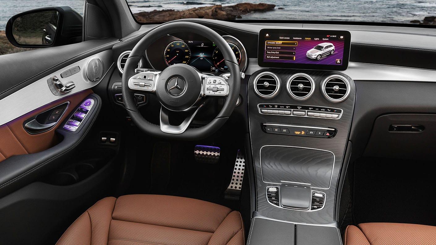 Trang bị trên xe Mercedes GLC200