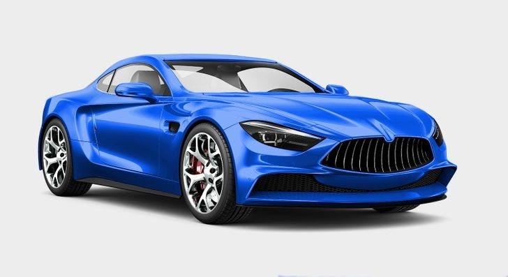 xe ô tô màu xanh dương