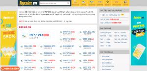 SIM đầu số 089 - SIM số đẹp tại TOPSIM.vn giá cực tốt !